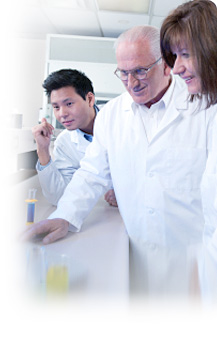 image of three medical laboratory technologists